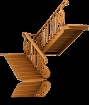 Лестница готовая