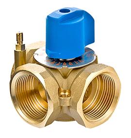 Клапаны смесительные, регуляторы температуры для ГВС и отопления