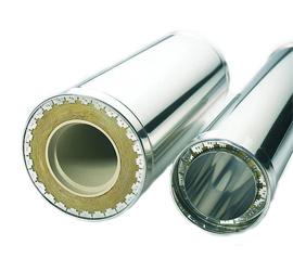 Трубы и аксессуары для дымоходов