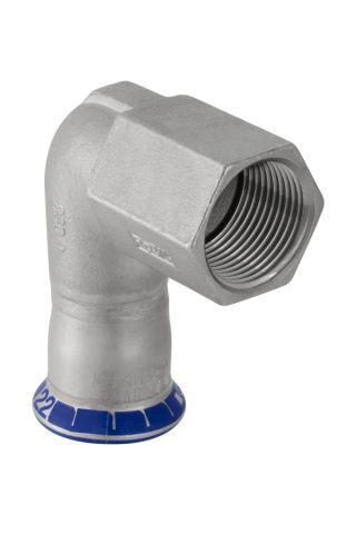 Уголок 90 пресс/ВР для стальных тонкост. труб,  нерж. сталь цена