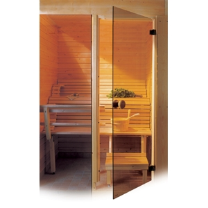 Двери стеклянные для сауны цена