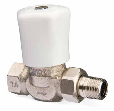 Клапаны радиаторные ручные с предв. настройкой, RVO-1, бронза цена