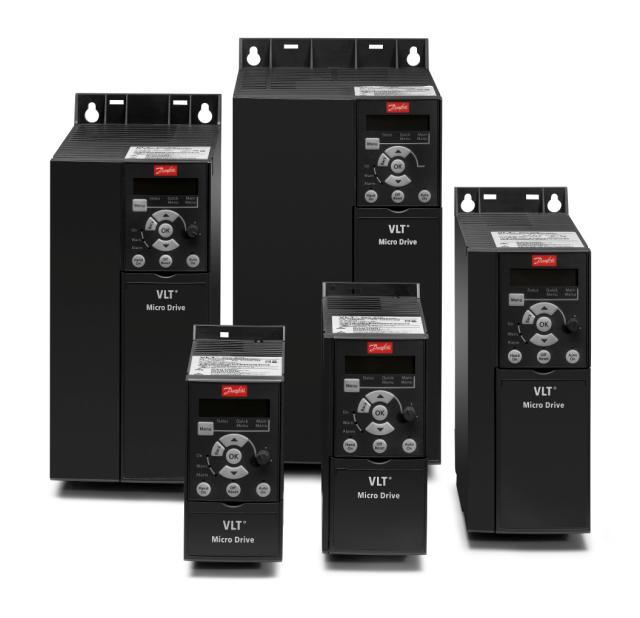 Частотные преобразователи Danfoss VLT® Micro Drive цена