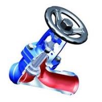 Клапан стальной с наклонным шпинделем приварной с сильфонным уплотнением Ari-FABA PLUS 35.066 цена