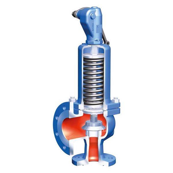Предохранительный стальной клапан Ari-Safe, фланцевый, PN40, тип 35.901 цена