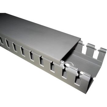 Короб перфорированный T1-E, серый цена