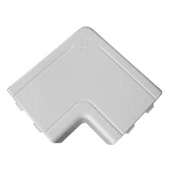 Угол плоский NPAN для кабель-каналов DKC IN-Liner, W0 (RAL 9010) цена