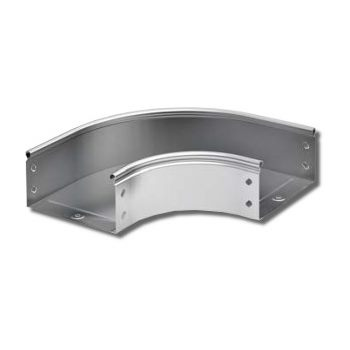 Угол горизонтальный 90° для металлических лотков DKC CPO 90 цена