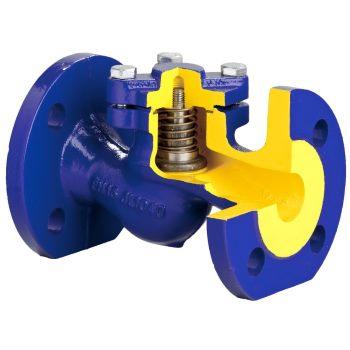 Обратные клапаны подпружиненые, фланцевые, Zetkama V287 цена