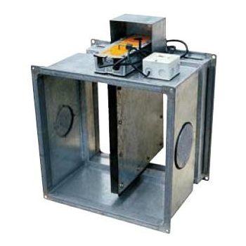 Клапаны противопожарные для прямоугольных воздуховодов с электроприводом КЛОП-1 цена