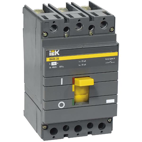 Автоматические выключатели в литом корпусе серии ВА88 цена