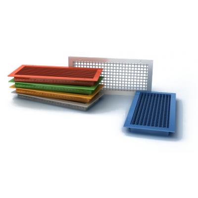 Вентиляционные алюминиевые решетки ( 2-х рядные регулируемые жалюзи), ВР-КВ цена