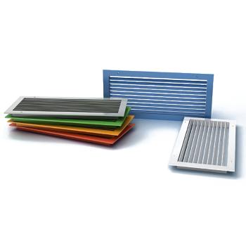 Вентиляционные алюминиевые решетки (горизонт. регулируемые жалюзи) ВР-К цена