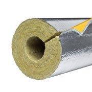 Цилиндры минераловатные алюминиевая фольга с нахлестом PAROC Hvac Section AluCoat T цена