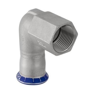 Отвод 90° пресс/ВР Geberit Mapress, нержавеющая сталь цена