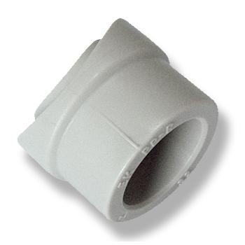 Вварное седло полипропиленовое Ekoplastik, PPR серый цена