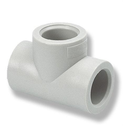 Тройник Ekoplastik, PPR серый цена