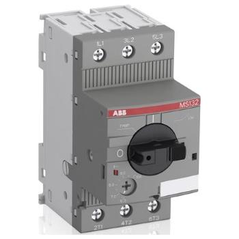 Автоматические выключатели для защиты э/д ABB MS132 c тепловой и электромагнитной защитой цена