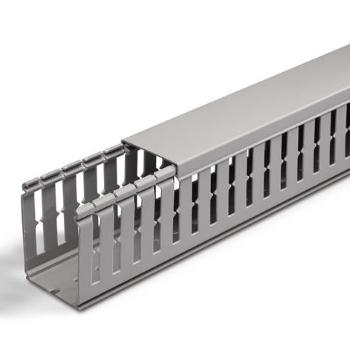 Перфорированные кабель-каналы ABB 4/6мм длина 2м серый (RAL7030) цена