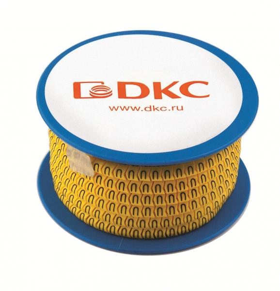 Маркировочные кольца DKC AZO (черное на желтом) цена