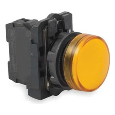 Лампы сигнальные светодиодные 22мм Schneider Electric XB5AVM, 230-240V цена