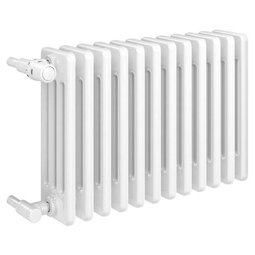 Стальной 4-х трубчатый вентильный радиатор Delta LaserLine Ventil цена