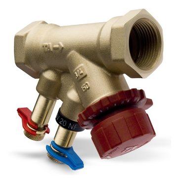 Клапаны балансировочные TBV, AMETAL (DZR латунь) цена