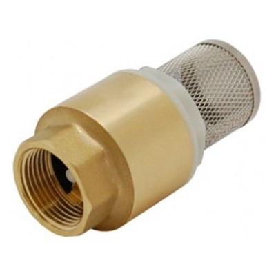 Обратный клапан пружинный с фильтром, латунь, Tiemme 3600 цена