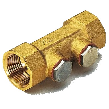 Обратный клапан створчатый с дренажом Tiemme 3680 цена