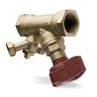 Клапаны балансировочные STA, AMETAL (DZR латунь) цена