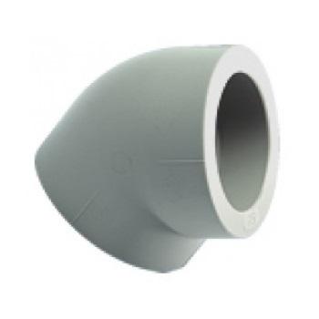 Уголок PPR серый 45°, Ekoplastik цена