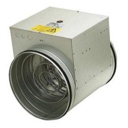 Электрический воздухонагреватель для круглых воздуховодов Systemair CB, 400В цена