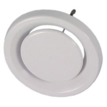Вытяжной настенно-потолочный круглый диффузор пластиковый Systemair Balance-E цена