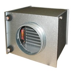 Водяные воздухоохладители для круглых воздуховодов Systemair CWK цена