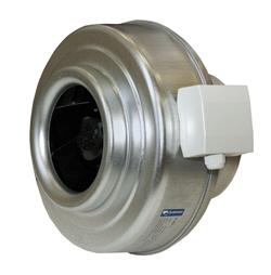 Канальные вентиляторы для круглых воздуховодов Systemair K цена