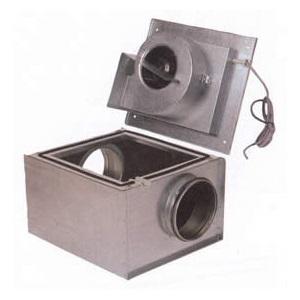 Канальные шумоизолированные вентиляторы для круглых воздуховодов Systemair KVKF цена