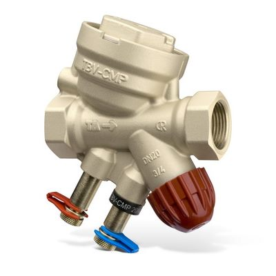 Клапаны балансировочные комбинированные TBV-CMP, AMETAL (DZR латунь) цена