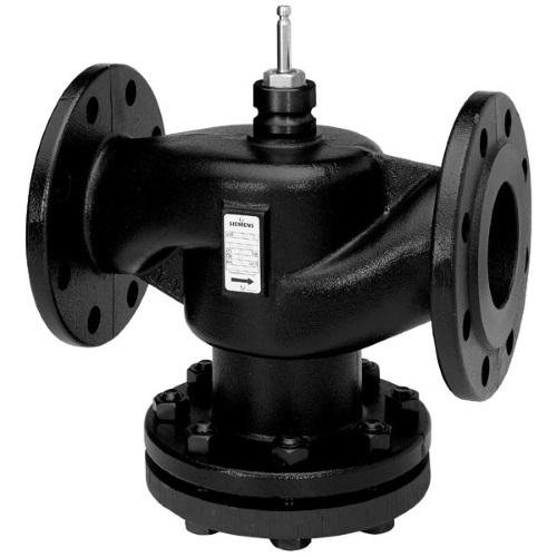 Клапаны регулирующие 2-х ходовые фланцевые для закрытых систем PN16 Siemens VVF40 цена