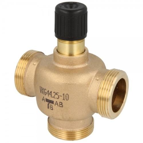 Клапаны регулирующие 3-х ходовые муфтовые PN16 Siemens VXG44 цена