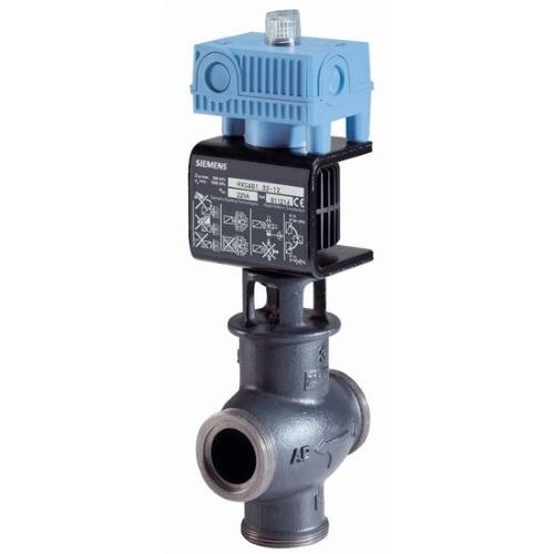 Клапаны регулирующие 3-х ходовые муфтовые с электроприводом Siemens MXG461 цена