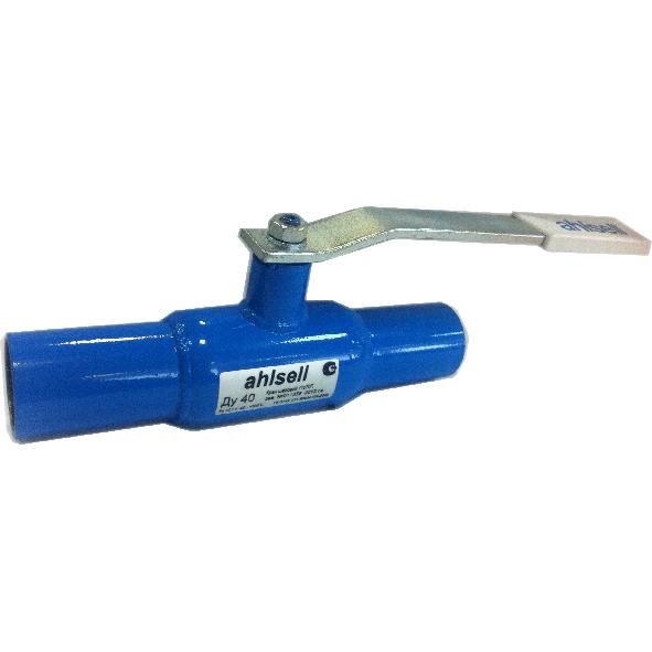 Кран шаровой стандартнопроходной, приварной, сталь, с ручкой, Ahlsell цена