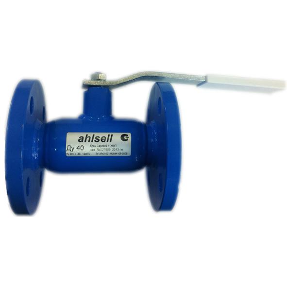 Кран шаровой фланц., сталь, рукоятка, Ahlsell цена