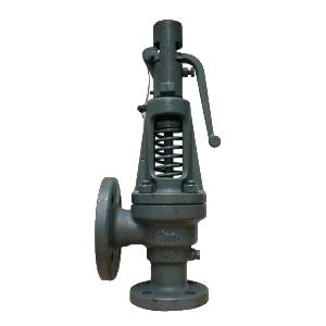 Клапан предохранительный пружинный с рычагом, чугунный Tecofi SR3244 цена