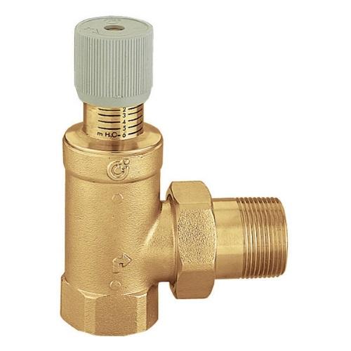 Клапан дифференциальный перепускной Caleffi 519 цена