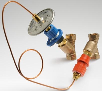 Ручные запорно-балансировочные клапаны Honeywell Kombi-3-plus цена