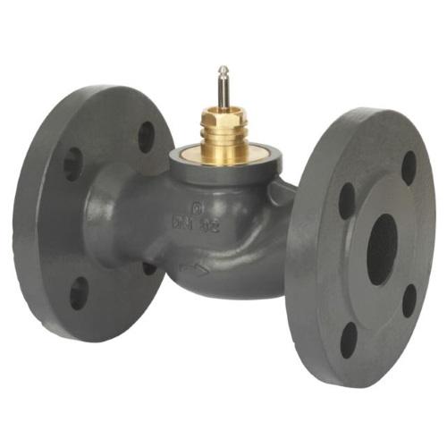 Клапаны регулирующие 2-х ходовые фланцевые седельные под электропривод Danfoss VF2 цена