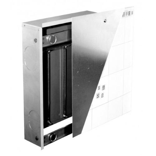 Коллекторный шкаф встраиваемый под отделку плиткой KAN-Therm SWPG-OP цена