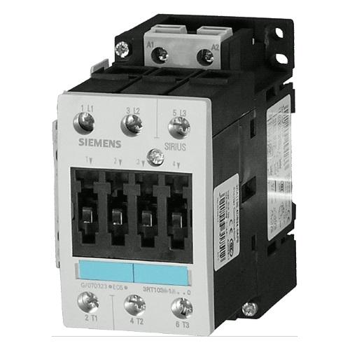Контакторы AC-3 Siemens 3RT1036, 22кВт/400В, 3П, типоразмер S2, винтовые клеммы цена