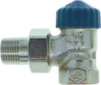 Клапан термостат., 1 тр. система без настройки, никел. бронза, угловой, Heimeier цена