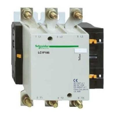 Контакторы AC-3 Schneider Electric TeSys F LC1F185, 90кВт/1000В, 185А, 3П, 1НО цена
